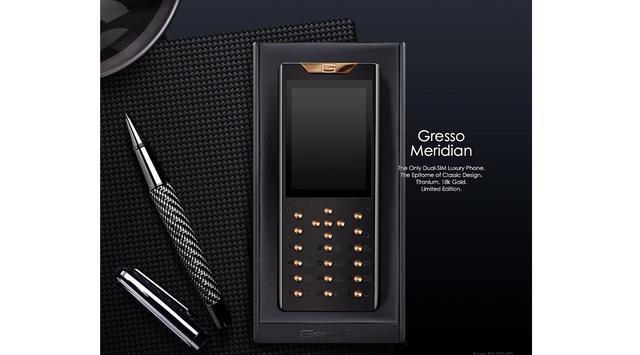 Ponsel Mewah Gresco Harga Ratusan Juta