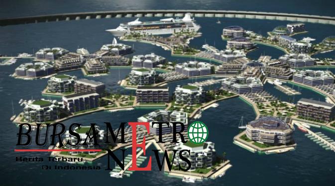 Kota Terapung Pertama Di Dunia