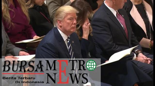 Ekspresi Donal Trump saat mendengar Alquran