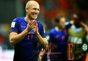 Arjen Robben Pemain Belanda Menjadi Daftar 8 Permain Bola Tercepat Di Dunia