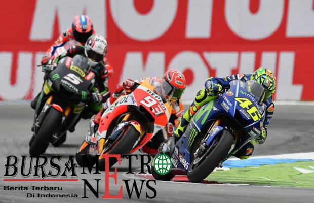 Marquez Soal Kecepatan, Marquez Melihat Rossi Sebelah Mata