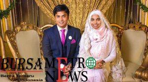 Wanita bangladeh tanpa riasan pada saat foto pengantin