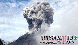 Kaitan gempa bumi dan meletusnya gunung Sinabung