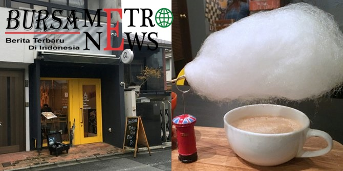 Sensasi Unik Minuman Berawan Ala Jepang