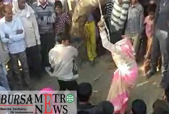 Wanita disiksa dan dicabul puluhan lelaki