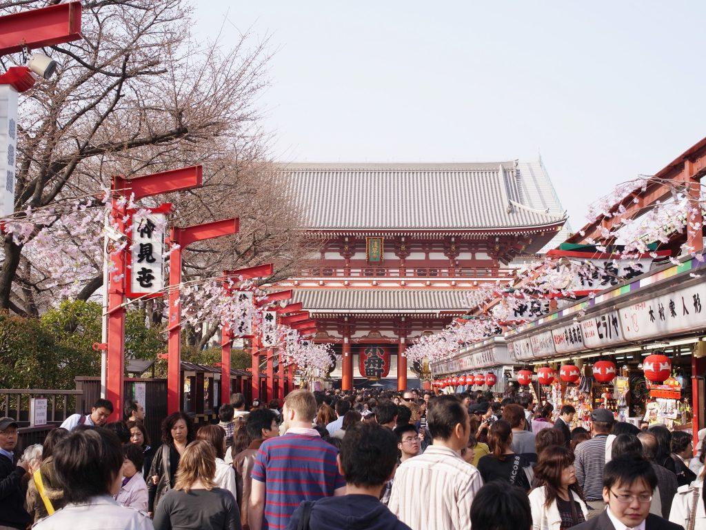 Jalan Nakamise, Asakusa