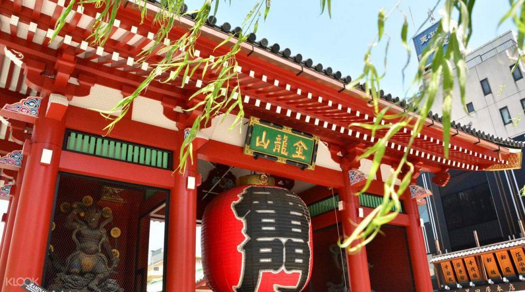 Gerbang Kaminarimon di Asakusa