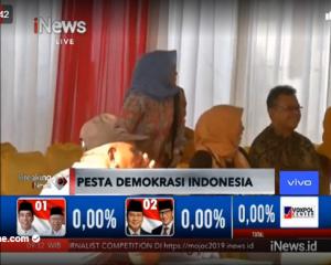 LIVE PEMILU 2019 PESTA DEMOKRASI INDONESIA
