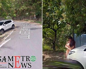 Pasangan Tanpa Busana Terekam Google Maps