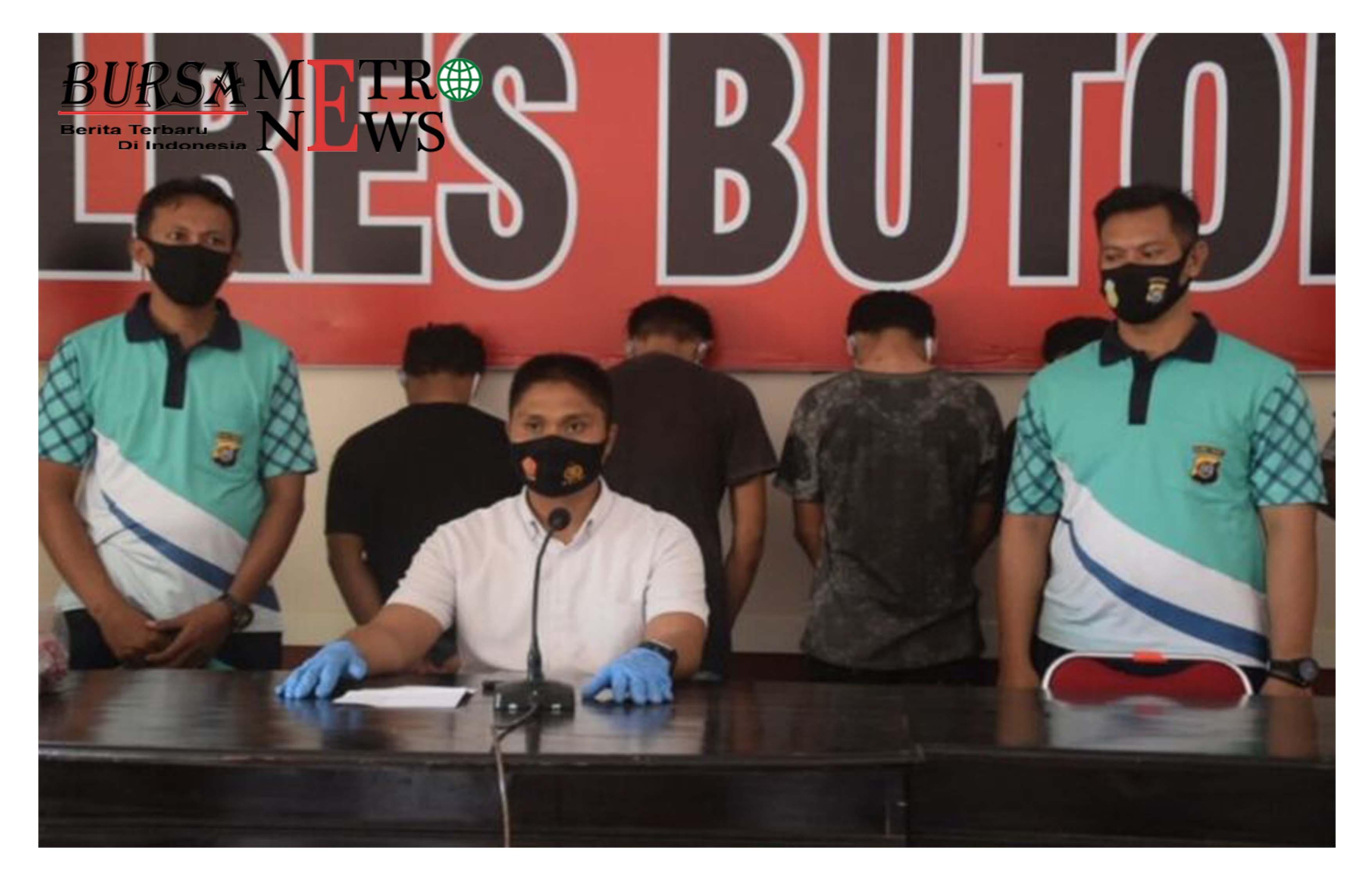 4 Pemerkosa Remaja Putri Viral di Buton Menyerahkan Diri